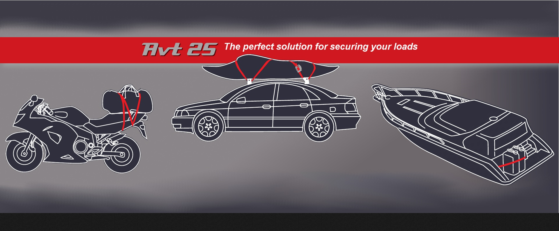 AVTENS AVT25 THE PERFECT SOLUTION TO SECURE YOUR LOAD
